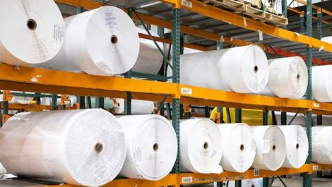 Acucote material rolls