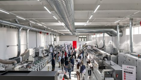 Bobst Firenze Competence Center machines