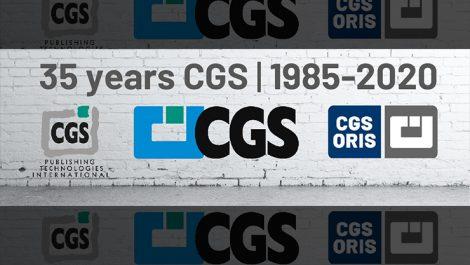 CGS Oris logos through the years