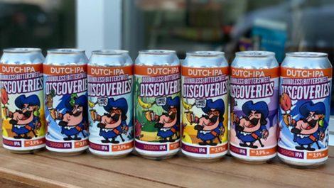 Dutch IPA Captain IPA cans