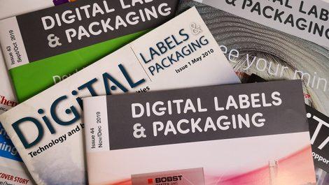 Digital Labels & Packaging covers