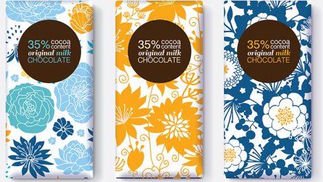 DuPont chocolate packaging sample