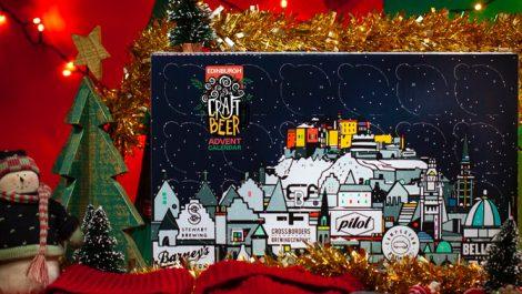 Edinburgh Beer advent calendar Durham Box
