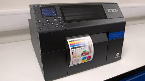 Epson ColorWorks Lintec Europe CY8525