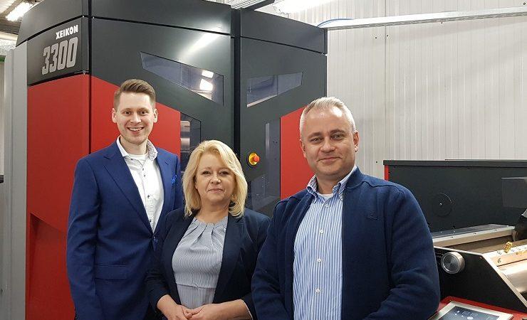 Polish printer upgrades to Xeikon 3300