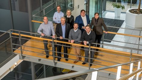 Global Graphics Software management team pictured in January