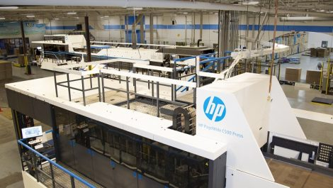 HP PageWide C5000 duo at CompanyBox