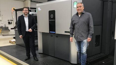HP Indigo 20000 at Labelprint24