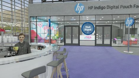 HP Digital Pouch Factory at Printing Expo