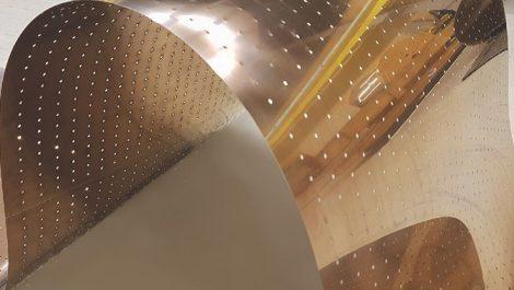 IPCO perforated steel belt