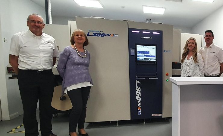 Impact Labelling Systems Screen Truepress L350UV+LM