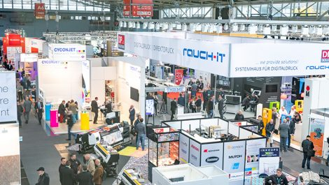 InPrint Munich show floor
