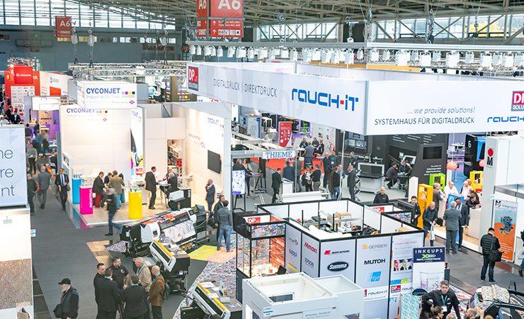 InPrint Munich show floor