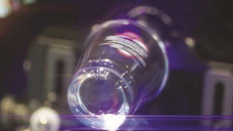 Inkcups Helix small diameter shot glass