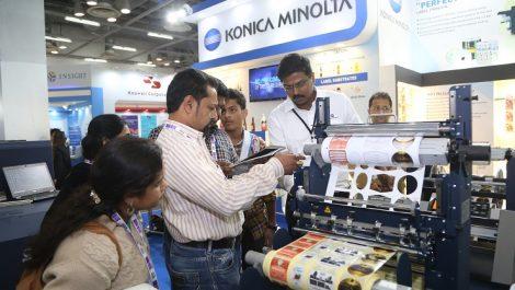 Konica Minolta Labelexpo India 2018