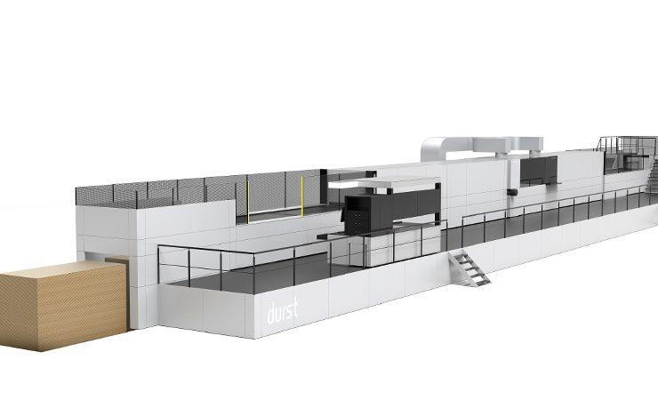 Koenig & Bauer Durst Delta SPC Flexline Automatic press