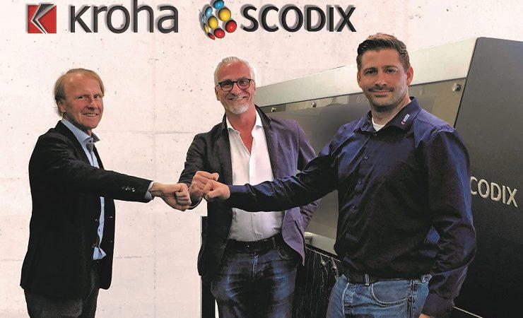 Kroha Druck in world first with Scodix installations