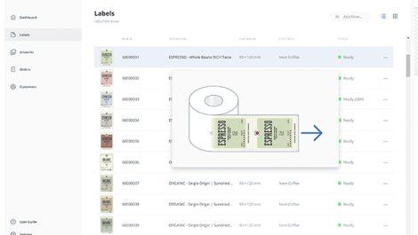 LabelHub screen shot