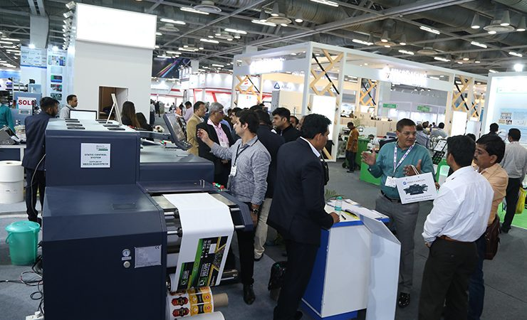 Labelexpo India show floor 2018