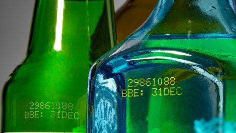 Linx Yellow bottling ink 1088
