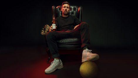 Budweiser Lionel Messi bottles
