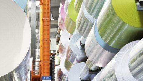 Mitsubishi HiTec Paper mill