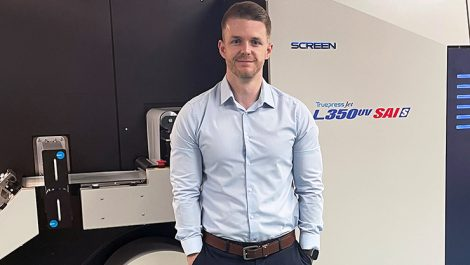 Limpet Labels operations manager Nathan Williams