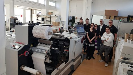 Swiss label converter invests in Digital One