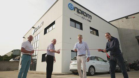 New Enprom-ABG building