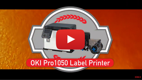 OKI Pro1050 Label Printer