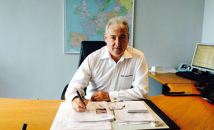 Paul Macdonald retires from Mark Andy UK