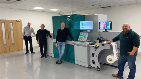 Spectrum Digital Labels installs PicoJet