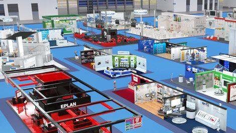 Printing Expo 3D show floor