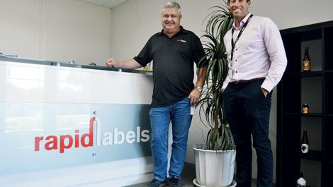 Rapid Label directors David Power and Sean Kennon