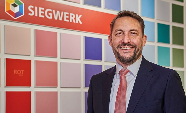 Siegwerk CEO Dr Nicolas Wiedmann