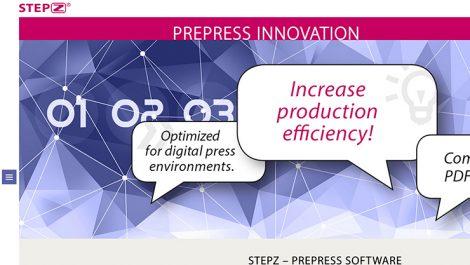 Stepz website screenshot