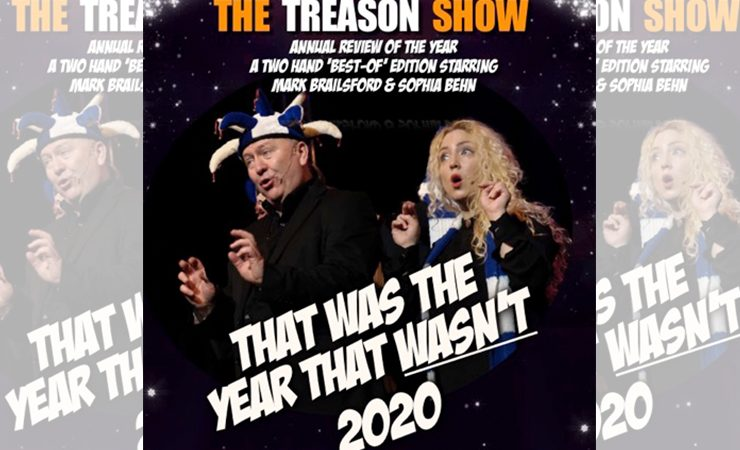 A4 Labels back The Treason Show