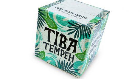 Tiba Tempeh packaging Durham Box