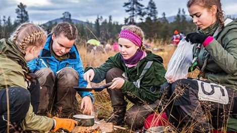 UPM, Guides and Scouts of Finland