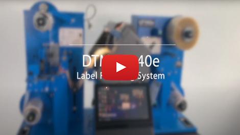 DTM - LF140e Digital Label Finishing System