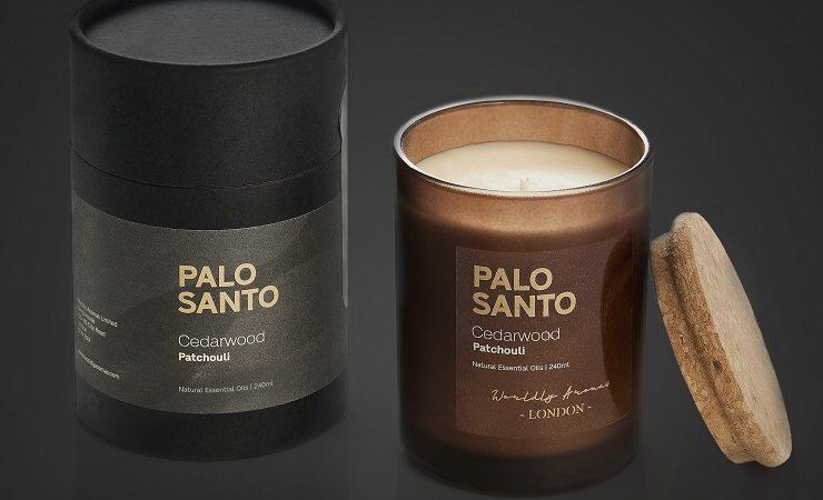 Worldly Aromas Palo Santo candles