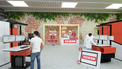 Xeikon 3D showroom