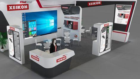 Xeikon China Print 2021 stand