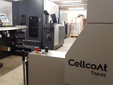 Cellcoat launches reel-to-reel instant lamination for digital print