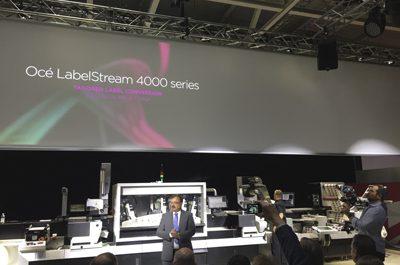 Canon Océ enters label market with new inkjet press