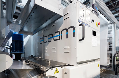 Edale and ebeam bring EB curing to Digicon 3000