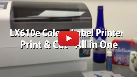 DTM - LX610e Pro Color Label Printer for unique runs