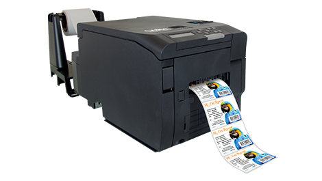 DTM aims small with label printer